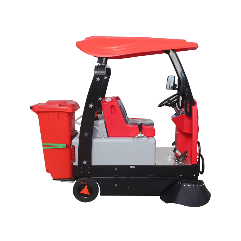 洁满仓(JIEMANCANG)驾驶式扫地机1350L大功率超大吸力公园小区学校无噪音绿色环保